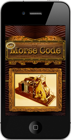 Morse code transmitter iphone app led based for iphone 4 - Home design app used on love it or list it ...