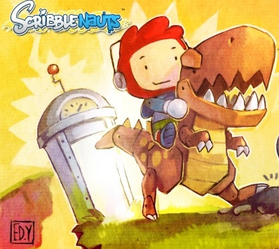 Scribblenauts Artwork for Nintendo DS