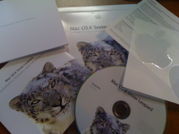 Contents of Snow Leopard Mac OS X