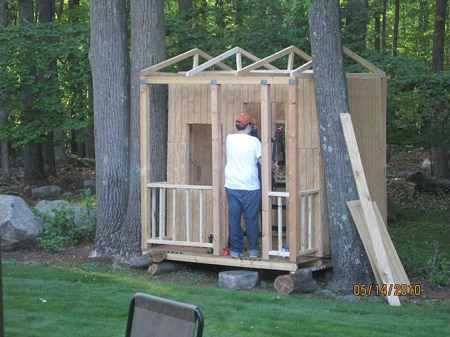 Building A Backyard Kid Playhouse