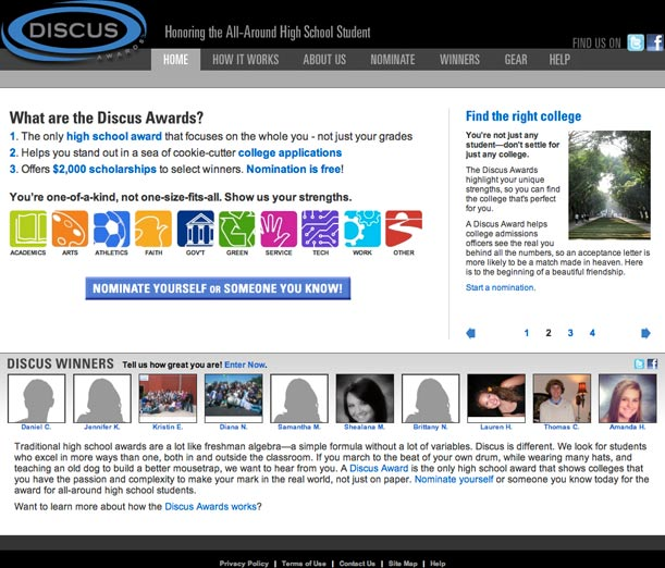 Discus Awards Main Portfolio Image
