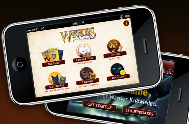 Warriors App Main Portfolio Image